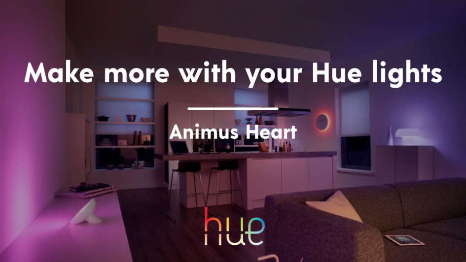How to control Philips Hue lights with Animus Heart – Animus Home Blog